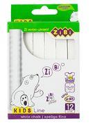 /Крейда біла квадратна 12 шт., картонна коробка, KIDS Line ZB.6703-12 (1/36/3264)