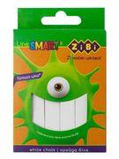 /Крейда біла квадратна 12 шт., картонна коробка, SMART Line ZB.6705-12 (1/56)