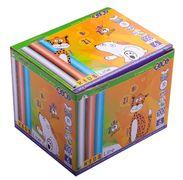 Крейда біла +кольорова 100шт., картонна коробка ZB.6718-99 (1/48)