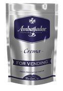 Кофе растворимый 200г*6, пакет, для торг. автоматов, CREMA,  (8718) Ambassador am.50720 (1)