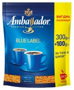 Кофе растворимый 400*10, пакет, Blue Label,  Ambassador am.52503 (1/10)