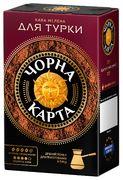 Кофе молотый 230г+20г*12, вак.уп, Для турки,  (PL) Чорна карта ck.52712 (1/12)