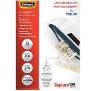 Плівка для ламінування глянсова 125мкм, 154x216мм - A5, 100шт. f.53073 (1/5/540)