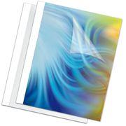 Обкладинка пласт. для термоброшурування Standing 8мм,білі,товщ. 61-80 арк. А4 f.53912 (1/100/1000)