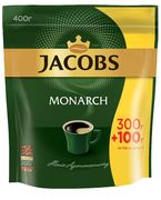 Кофе растворимый 400г, пакет,  Jacobs Monarch prpj.90854 (8)