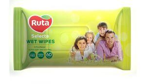 Серветки вологі Ruta Selecta для всіеї родини 60 шт rt.92458 (1/12)