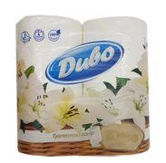 Папір туалетний целюлозний  ELITE, 4 рул, 3-х шар., білий Диво тп.дв.е.4б (1/20)