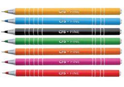 Ручка кулькова FINE, асорті CF11961 (50)