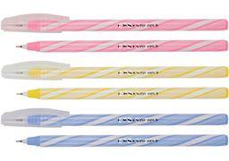 Ручка кулькова Snowy, колір чорнил: синій, 0,6 мм, асорті CF11964 (50)