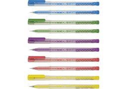 Ручка кулькова Clear, колір чорнил: синій, 0,7 мм, асорті CF11966 (50)