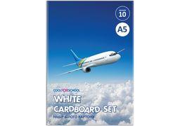 Набір білого картону CFS, А5 CF21001-02 (20)