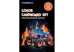 Набір кольорового картону А5, 10 арк., CFS CF21002-03 (20)