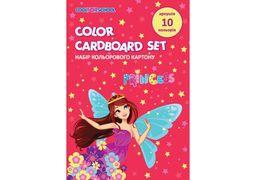 Набір кольорового картону А5, 10 арк., CFS CF21002-08 (20)