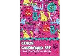 Набір картону кольорового CF21002-09 (20)