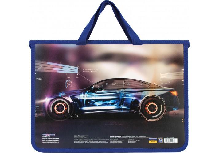 Портфель пластиковий на молнії Racing CF30000-02 (1)