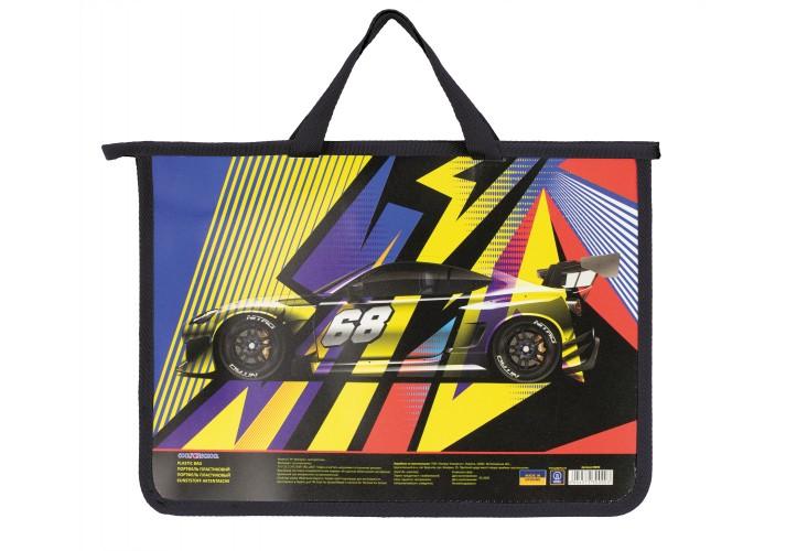Портфель пластиковий на блискавці Racing CF30000 (1)