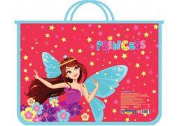 Портфель пластиковий на блискавці Princess CF30001-05 (1)