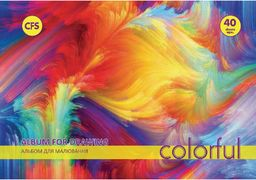 Альбом для малювання на пружині, 40 аркушів CF60904-02 (4)