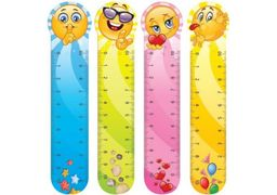 Закладинки пластикові для книг Smile (4шт.) CF61423 (1)