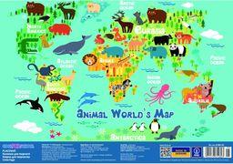 Килимок для дитячої творчості Animal World's Map CF61480-05 (8)
