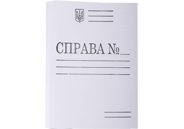 Папка швидкозшивач паперовий Справа ЕКО А4 DK007 (50)