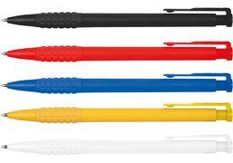 Ручка кулькова Economix MERCURY 0,5 мм. Корпус асорті, пише синім. E10104-25 (50)