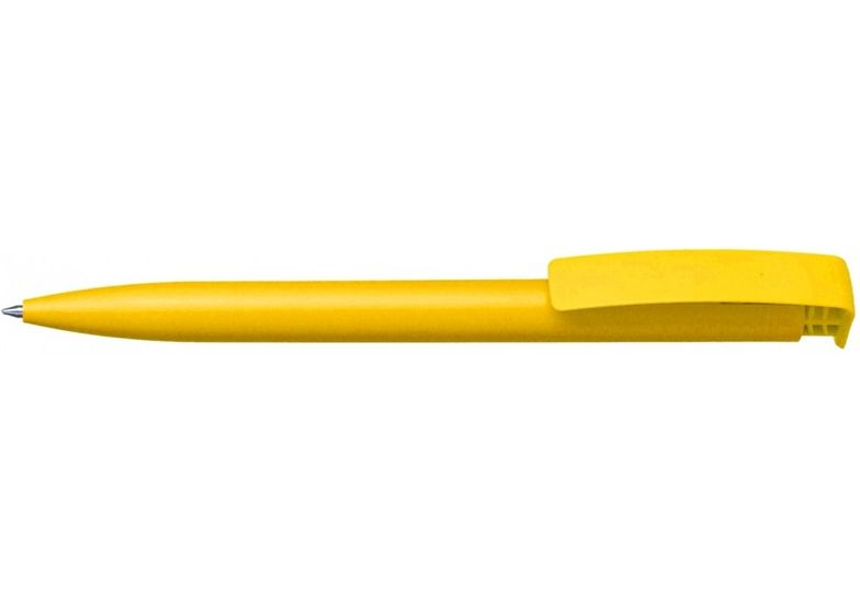 Ручка шариковая ECONOMIX PROMO MIAMI. Корпус желтый, пишет синим E10255-05 (50)