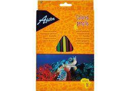 Олівці кольорові пластикові Animal World, 18 кольорів E11524 (8)