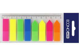 Стікери-закладки Economix, 12х45, пластикові E20960 (24)