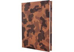 Щоденник недатований, MILITARY, коричневий, А5 E21721-07 (1)