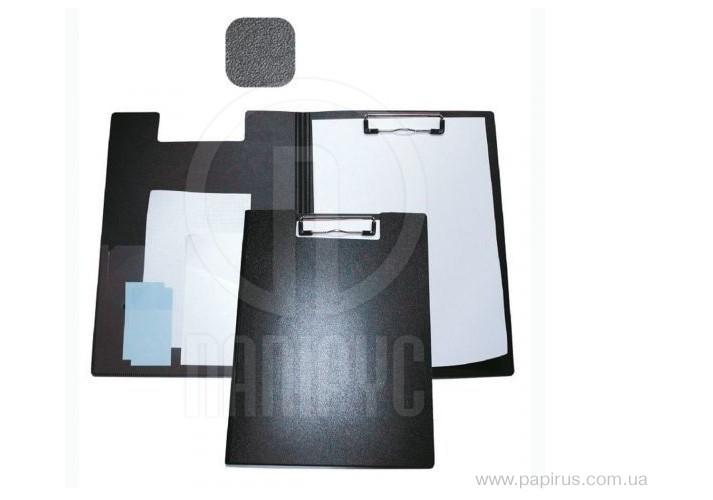 Папка-планшет А4 Economix з притиском, пластик, чорна E30153-01 (1)