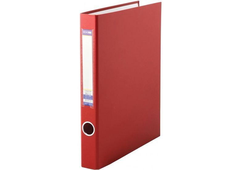 Папка-регистратор А4 на 2-O кольцах, 40мм, красная E30709-03 (1)