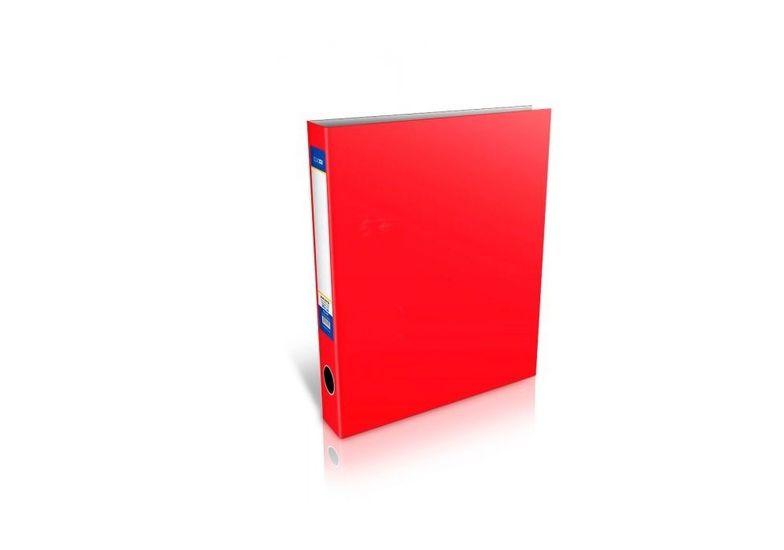 Папка-регистратор А4 на 4-O кольцах, 40мм, красная E30710-03 (1)