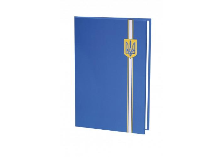 Папка до підпису повнокольорова, синій герб E30901-02 (1)