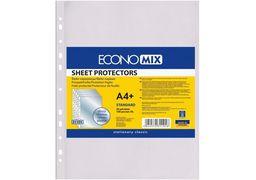 Файл для документів А4+ Economix, 30 мкм, фактура глянець (100 шт/уп) E31101 (20)