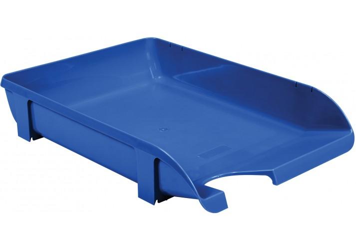 Лоток горизонтальний Economix, пластик, блакитний непрозорий E31801-22 (1)