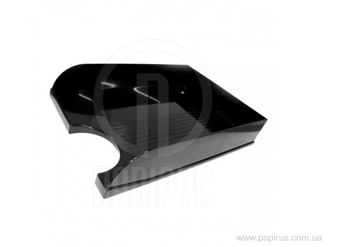 Лоток горизонтальний Economix, чорний E31804-01 (1)