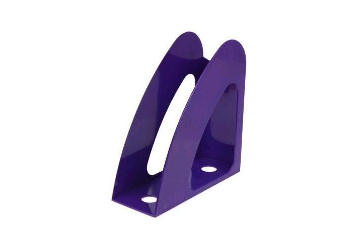 Лоток вертикальний Economix Веселка, фіолетовий E31904-12 (1)
