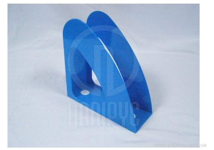 Лоток вертикальний Economix Веселка, пластик, блакитний непрозорий E31904-22 (1)