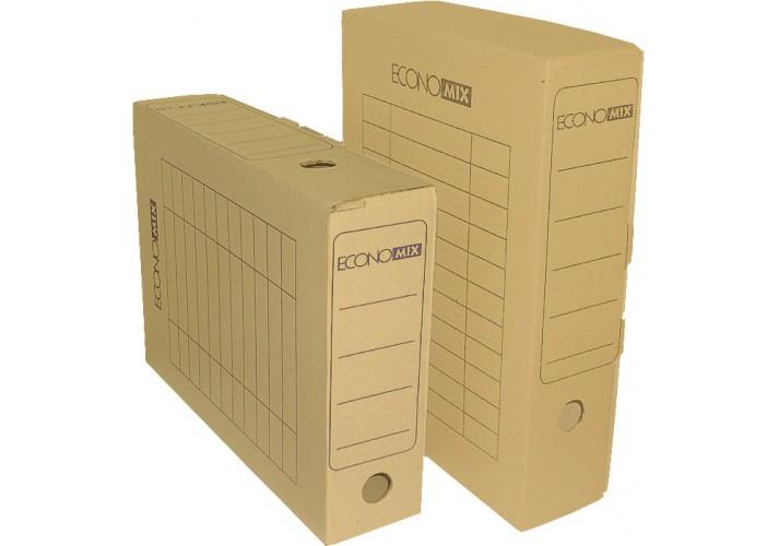 Бокс архівний Economix, А4 , 80 мм колір білий E32701-14 (20)