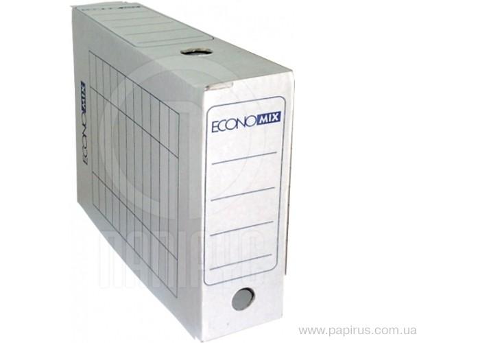 Бокс архівний Economix, А4, 100 мм колір білий E32704-14 (20)
