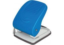 Діркопробивач до 40 арк., Economix, пласт. корпус, з лінійкою, синій E40136 (1)