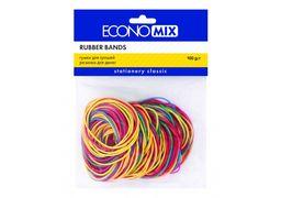Гумки для грошей Economix 100г, асорті E41506 (10)
