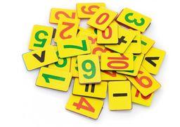 Набір магнітних цифр (від 1 до 10, знаки) E61486 (1)