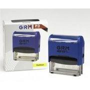 Оснастка автомат., GRAFF 4915 P3, пласт., для штампа 70х25 мм, синя GRF4915P3-02 (1)
