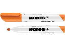 Маркер для білих дошок KORES 2-3 мм, помаранчевий K20834 (12)