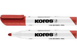 Маркер для білих дошок KORES 2-3 мм, червоний K20837 (12)