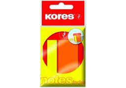 Стікери-закладки Kores, 45х2 и 45х25, пластикові K45122 (1)