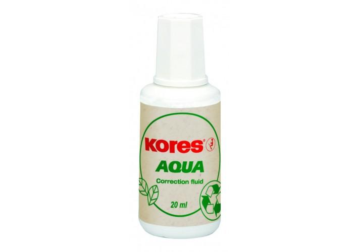 Коректор-рідина Kores AQUA, водна основа K69101 (10)