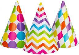 Набір з 6 ковпаків на голову із гумовою стрічкою, висота 15,24 см, кольорові асорті MX200001 (1)